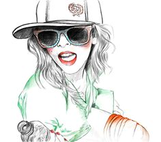 shu84: Anka Kuprian Fashion Illustrations