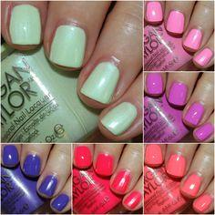 Summer 2015 on my toes now. Nail Polish Brands, Nail Polish Colors, Morgan Taylor, Color Club, Cnd Shellac, Nail Polish Collection, Stylish Nails, Mani Pedi, How To Do Nails