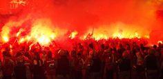 Ruas de fogo em Porto Alegre - LA 2015