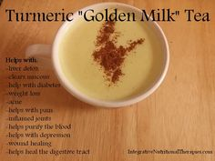 Turmeric root is one of the most revered roots and comes from the Curcuma longa plant. Turmeric has a rich history in Indian and Ayurvedic . Golden Milk Tea, Turmeric Golden Milk, Fresh Turmeric Root, Turmeric Health Benefits, Turmeric Tea, Tumeric Latte, Healthy Drinks, Healthy Snacks, Healthy Recipes