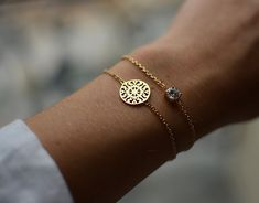 Gold Filigree Sun Disc Bracelet, Available Here: http://www.amazon.com/Ladies-Plated-Filigree-Chain-Bracelet/dp/B004M8VC1C/?tag=miksthi-20=UTF8