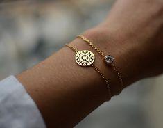(3) Fancy - Gold Filigree Sun Disc Bracelet For My Altar Ego MissSunshine :p
