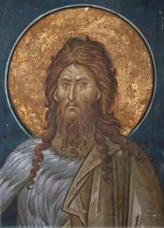 Byzantine Art, Byzantine Icons, John The Baptist, Orthodox Icons, Fresco, Mosaic, Saints, Sculpture, Drawings