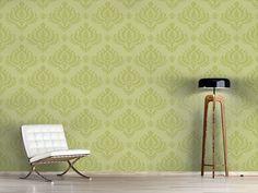 Design #Tapete Grüner Barock