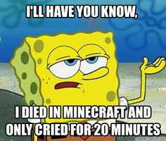 Minecraft Spongebob
