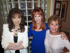 With Kathy Griffin and Judge Judy