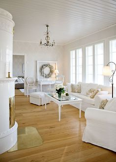 Kannustalo Aurora Country House Romantic Interiors 5