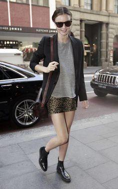Leopard mini and blazer