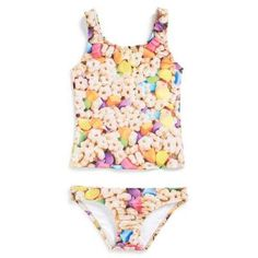 Girl's Zara Terez 'Good Luck' Two-Piece Swimsuit #formalsuit #beachtrip #vacation #sunny #girls #covetme