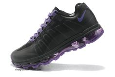 Womens Nike Air Max 95 360 Black/Anthracite-Pure Purple  -$57