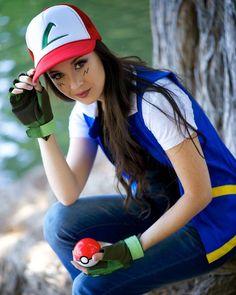 Ash Ketchum (Pokemon) by Hendo Art Pokemon Cosplay, Anime Cosplay, Anime Costumes, Cosplay Costumes, Halloween Costumes, Ash Ketchum Cosplay, Pokemon Go Cheats, Pokemon Cards, Most Beautiful Pictures