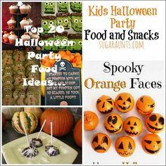 Sugar Aunts: Kid Friendly Halloween Party Ideas