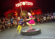 Ringling Bros clowns #RinglingBrothersCircus #RbcCenter #Raleigh #AskaTicket