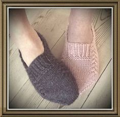 Ravelry: Nettle Essence pattern by Monica Hellberg Simply Knitting, Knitting For Kids, Easy Knitting, Knitting Socks, Knitting Projects, Knitted Booties, Knitted Slippers, Slipper Socks, Knit Slippers Free Pattern