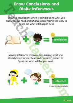 Inference and conclusion