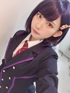 Check out these Japanes theme cosplay characters. School Girl Japan, Japan Girl, Beautiful Japanese Girl, Beautiful Asian Girls, Cute Cosplay, Cosplay Girls, Anime Cosplay, Cute Asian Girls, Cute Girls