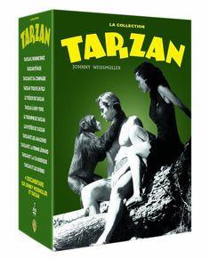 La Collection Tarzan - Johnny Weissmuller  Édition Limitée  - DVD NEUF SERIE TV