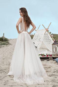 Robe de mariée Benjamin - www.fabiennealagama.com #fabiennealagama#collection2017#robedemariee
