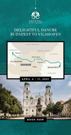 Immerse yourself in European culture on this 7-night voyage from Budapest to Vilshofen.