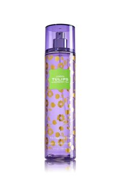 LONDON TULIPS & RASPBERRY TEA - Fine Fragrance Mist - Signature Collection - Bath & Body Works - Lavishly splash or lightly spritz your favorite fragrance, either way you'll fall in love at first mist! Our carefully crafted bottle and sophisticated pump delivers great coverage while conditioning aloe mist nourishes skin for the lightest, most refreshing way to fragrance!