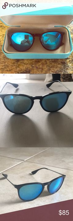 Ray ban - Erika  worn few times Erika style worn few times small scuff on right side shown in photograph Ray-Ban Accessories Glasses