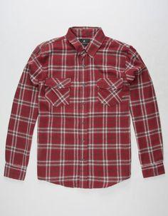 SHOUTHOUSE The Ridge Mens Flannel Shirt