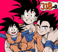 Goku And Gohan, Son Goku, Akira, Dragon Ball Z, Cute Art, Cute Babies, Baby Boy, Hero, Animation