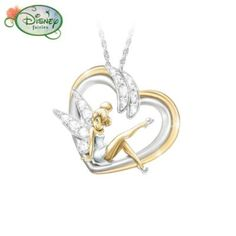 Tinker Bell Pendant Necklace: Embrace The Magic