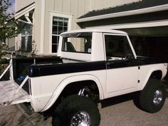'66 Ford Bronco Half Cab ~ For Sale ~ Tap the pin for specs and more pictures.