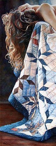 Image detail for -Steve Hanks - The Best Watercolor Artist in the World! ~ Almost bought this print once, regret not doing it!
