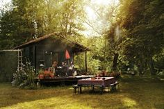 Isabel Marant's cabin / The Green Life <3