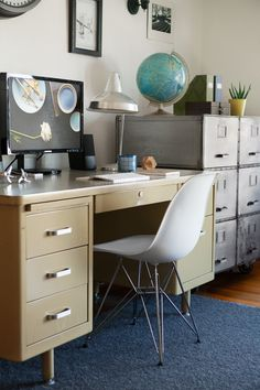 Turning a Rental into a Home - Home Office