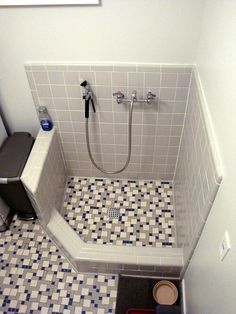 dog shower in laundry room built ins \ dog shower in laundry room ; dog shower in laundry room diy ; dog shower in laundry room garage ; dog shower in laundry room ideas ; dog shower in laundry room built ins ; dog shower in laundry room utility sink Casa Magnolia, Dog Washing Station, Bath Tiles, Retro Renovation, Dog Rooms, Dog Shower, Laundry Room Design, Laundry Rooms, Small Bathroom