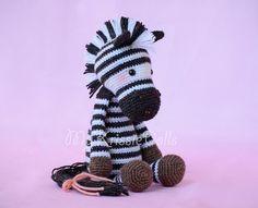 zebra crochet pattern – Knitting Tips Crochet Amigurumi, Crochet Teddy, Cute Crochet, Crochet For Kids, Crochet Dolls, Crochet Baby, Knit Crochet, Crochet Zebra Pattern, Crochet Toys Patterns
