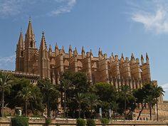 Honeymoon. Palma Cathedral, Palma, Mallorca