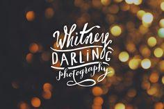 Whitney_Darling_Logo_by_Hoodzpah_1 #design #graphicdesign #designinspiration
