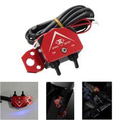DC12V 0.5W luz doble flash interruptor de la señal interruptor de la lámpara de la motocicleta eléctrica de la motocicleta luces de giro