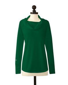 Tulane Green Wave | Cowl Neck Sweater | meesh & mia