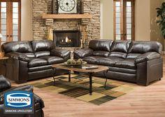 1720 Venture Chocolate Living Room