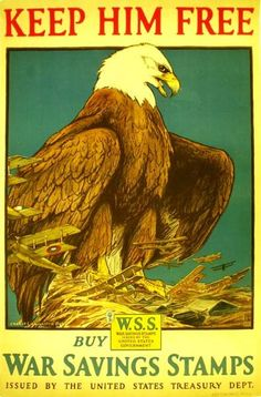 WW One: War Savings Stamps