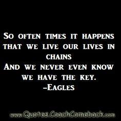 New Rock Music Quotes Lyrics The Eagles 41 Ideas Song Quotes, Rock Lyric Quotes, Thats The Way, Greatest Songs, Music Lyrics, Great Song Lyrics, Music Hits, Music Music, Rock Music