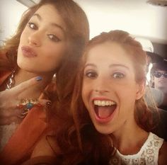 Martina Stoessel and Candelaria Molfese