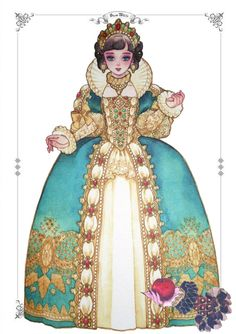 Princess Illustration, Fantasy Illustration, Fantasy Princess, Anime Princess, Snow White Characters, Queen Art, Cute Paintings, Surrealism Painting, Fantasy Character Design