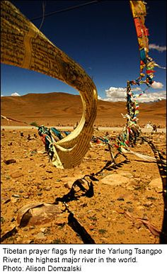The dirt road is now paved. The prayer flags are of a different material now. Things change everywhere. Memories
