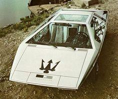 Maserati Boomerang.