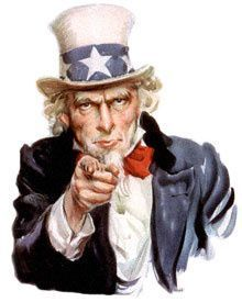 """I Want You for the U. Army by James Montgomery Flagg created this recruiting poster showingi Uncle Sam (based on self-portrait). It was not until the First World War that """"graphic arts"""" were used as a tool of propaganda. I Want You, Things I Want, Oncle Sam, Digital Literacy, Digital Storytelling, The Big Lebowski, Big Lebowski Poster, Rockn Roll, Le Web"""