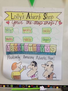Adverbs. Get your adverbs here!