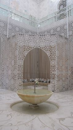 Royal Mansour Spa, Marrakech, Morocco.