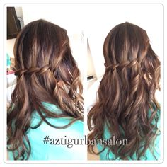 #waterfall #braids