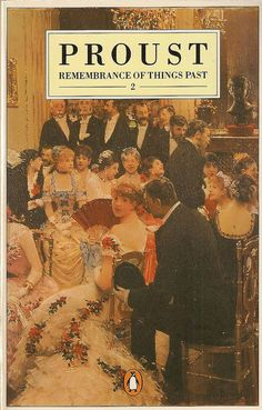 Rememberance of Things Past, by Marcel Proust, a book of the belle époque.